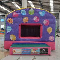 balloon bouncer - AOQI creative designed inflatable colorful balloon bouncer low price jumping house inflatable for sale made in guangzhou