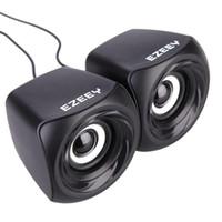 Wholesale USB mm PC Speakers Subwoofer for Desktop Laptop Notebook Tablet FM Radio Smart Phones T10 Mini Speaker