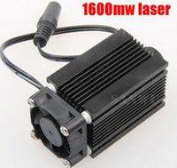 Wholesale 1600mw blue laser head nm diy laser machine parts laser diode laser tube W