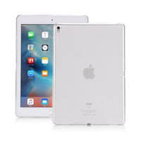 apple bottom case - For iPad pro TPU bottom cover soft full protect matte transparent Case for iPad air shell back case