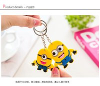 Wholesale Cartoon soft key chain key ring key chain phone pendant car ornaments gift