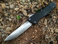 aerospace tools - Microtech dinosaur blade VG10 HRC Aerospace aluminum handle Pocket knife survive camping outdoor knife EDC tools