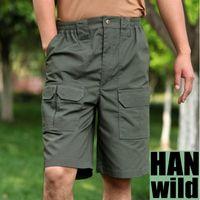 Wholesale HOT Fashion Outdoor Pants Sport Joggers Cargo Pants Men Summer Shorts Trousers Cotton Male