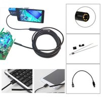 Wholesale 3 M mm Android Endoscope Waterproof Borescope Inspection Camera LED New