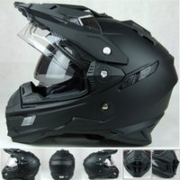 Wholesale THH Brands mens motorcycle helmets motocross racing helmet off road motorbike full face moto cross helmet dual shield DOT fee ship