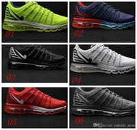 Cheap High Quality Men Max 2016 II Nanometer Shoes Mesh Breathable Running Shoes Cheap Discount Sports Trainer Run Sneakers Air Size 40-46