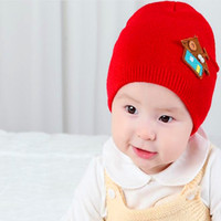 Newsboy Hat Yarn Dyed Plain Warm Newborn Cap Kid Christma Gift Props For Photography Kid Hat 2016New Baby Boy Girl Infant Toddler Cute Soft Crochet Hat