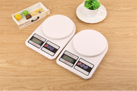Wholesale 10Kg x g Digital Kitchen Scales Food Scale Libra Balance Weight Electronic Scale for Diet Bodybuilding With Good Quality