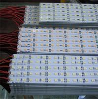 aluminum pcb led - SMD led bar aluminum PCB IP20 Non waterproof meters led rigid strip leds m DC V For Showcase Decoration