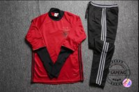 benfica clothing - Benfica Football Training suit Football clothes suit men sportswear survetement Football Long sleeve