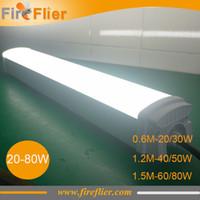 Wholesale Aluminium m m m tri proof Led tube light W W ft ip65 batten lamp w w w