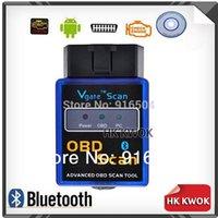 Wholesale Latest Software V2 Version Mini ELM Bluetooth Vgate Scan OBD2 Diagnostic Tool Code Reader F50