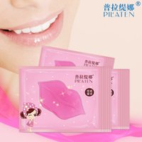 Wholesale Lip Mask New Upgrade Women Gold Collagen Protein Crystal Moisturizing Lip Film for Winter Crystal Collagen Free DHL
