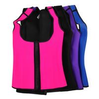 Wholesale XS XL Colors Shoulder Straps Waist Trainers Latex Sport Waist Cincher Vest Rubber Steel Boned Waist Trainer Corset Shapewear