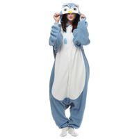 Wholesale New Factory Brand Hot Sales Adult Owl Pyjamas Unisex Sleepwear Lovers Onesie Pyjamas Night Owl Cosplay Dress Cartoon Animals Owl Jumpsuit