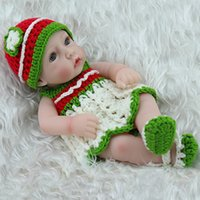 silicone dolls - Reborn Baby Doll Soft silicone reborn baby doll kit not solid posable structure girl kids toys