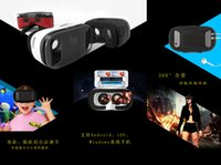 Wholesale 2016 New Fashion Virtual Reality Glasses VR BOX for D movies or games