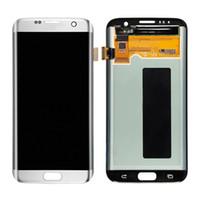 Cheap 100% Full Original LCD Screen For Samsung Galaxy S7 Edge G935 G935F G935A G935FD G935P LCD display touch screen Digitizer Free Shipping