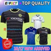 chelsea - 2016 TOP Thai Quality Chelsea Soccer Jerseys Home Blue White black Third TERRY Willian HAZARD Pedro OSCAR DIEGO COSTA Football Shirts