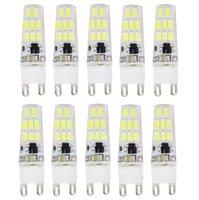 Wholesale G9 LED SMD5733 AC220V LM Warm White White Decorative Waterproof LED Bi pin Lights JTFL140