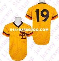 Wholesale High grade Men s Tony Gwynn san diego padres jersey throwback baseball jerseys plus size retro embroidery jerseys