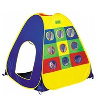 baby play space - 2016 New Coming Kids Adventure Large Space Child Play Game House Kids Play Tent Baby Breathable Toy Tent Baby Super Gift