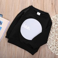 Wholesale 2016 Fall Baby Boy Casual Pullover Tops Long Sleeve Crewneck Sweatshirt Coat Y