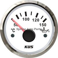 Wholesale quot mm oil temp gauge V V KY14102 with backlight with temp sensor