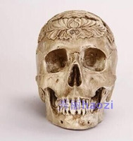 Wholesale The simulation model of human skull resin skull skull art medical