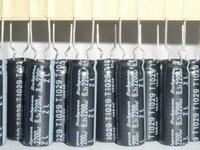 Wholesale uF V x23mm Low Impedance V2200uF Aluminum Electrolytic Capacitors