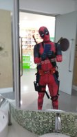 adult only halloween costume - halloween Avengers Cosplay Deadpool Costume Full Body Jumpsuit adult deadpool mask mask amp clothes including only