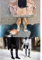 Wholesale Chelsea boots slp brand designer Classical Vintage Handmade Chelsea Boots All matching Kanye West Boots Crepe Bottom Platform Botas Trainers