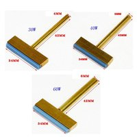 Wholesale 30W W W Copper T Soldering Iron Tips with Hot Press for LCD Screen Flex Cable Chip Repair Tools