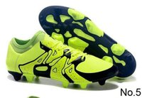 Wholesale New Arrivals color messi X15 soccer Cleats Soccer Shoes Football Boots inbox mixed order Mens sport shoes