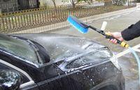 Wholesale Switch Car Wash Brush With Water Car Wash Foam Water Gun Tool Soft Bristle Car Wash Brush