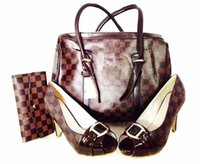 african shoe bag - New arrival lady shoes with bag african high heel shoes matching bag for many occasion AE4085
