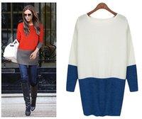 Wholesale 2016 Fashion Patchwork Women Sweatshirts Hoodies Fall Winter Women Clothes Lady Sweatshirts