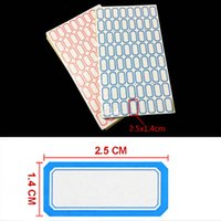 Wholesale Red Blue Color Price Sticker Adhesive Paper Self adhesive Label Price Tag Price Label Sticky Office School Supplies Papelaria