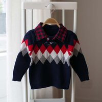 baby knit wear - Crochet Sweater Baby Wear Child Clothes Kids Clothing Autumn Knitted Sweaters Children Pullover Boys Sweater Kids Pullover Ciao C27748