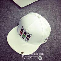 alphabet keychains - hot sell Dongguk door Royal British soldiers alphabet cartoon cap embroidered baseball cap hip hop hat new