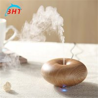 home fragrance oil - Aromatherapy Ultrasonic PP Humidifier Ultrasonic Skin Essential Oil Aroma Electric Fogger Mist Maker Fragrance Portable Diffuser for home