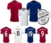 Thailand jersey soccer Baratos-Camisetas SUPERIORES de TAILANDIA POGBA, camisas del fútbol, MATA, Rashford, Schweinsteiger, ROONEY, Memphis, Mkhitaryan, Ibrahimovic, marcial