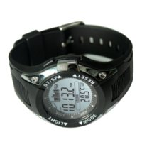 barometer glass - New Design Fishing Altimeter Barometer Thermometer Watch Mens Watch Outdoor Sports Digital Watches Men Climbing Hiking Hours