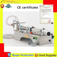 Wholesale liquid filling machine semi automatic pneumatic filler water shampoo juice oil glycerinum lubricant piston filler