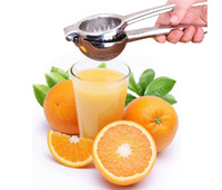 Wholesale 2016 NEW style Stainless steel manual juicer Baby Baby pressure juice machine Food squeeze lemon thickened orange folder