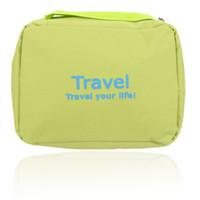 Wholesale Waterproof Large Capacity Hanging Wash Bag Multifunctional Outdoor Camping Cosmetic Bag Storage Breathable Travel Bags