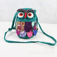 Wholesale Preschool baby Owl Backpack Colorful Fashion Hot children bag backpack owl fashion baby kids school bags Chinese national characteristics