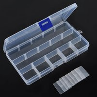 Wholesale 15 Compartments Plastic Box Jewelry Bead Storage Container Craft Organizer