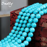 Wholesale Turquoise Stone Natural Semi Precious Gemstone Loose Beads mm mm DIY Bead for Making Bracelet Necklace Jewelry Stone Bead