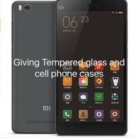 android phone cases - Xiaomi Mi4c M4c Cell Phone G FDD LTE Snapdragon808 Hexa Core inch X1080P GB GB giving tempered glss and cases